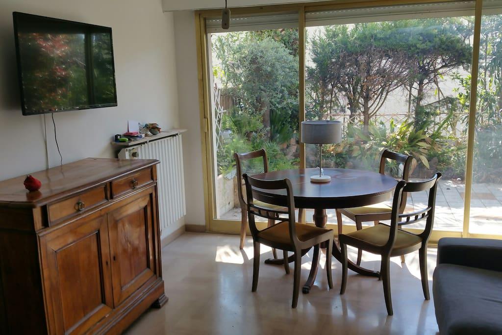 Séjour orienté SUD (living-room)