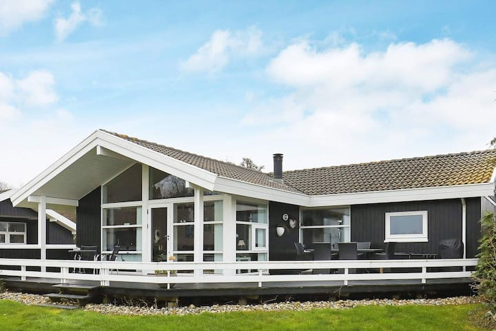 Sprawling Holiday Home in Syddanmark with Whirlpool