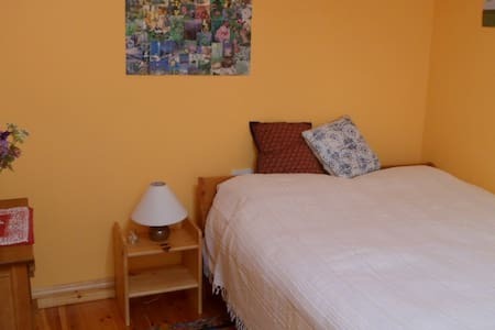 Cheerful, cosy room in chalet attached to cottage - Galway - Cabin