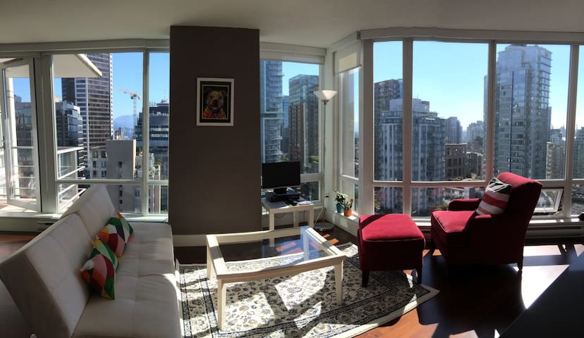 Cozy & great view 2 BDM central location downtown