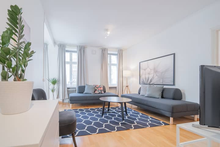 Homey 1br apartment for 4 in Etu-Töölö