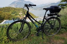 Bike elettrica per gli ospiti