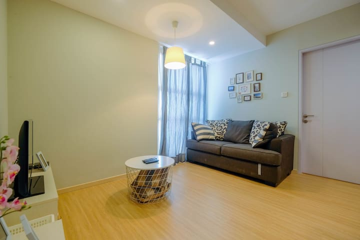 Modern & Beautiful 2BR at Pasar Baru Mansion Apt