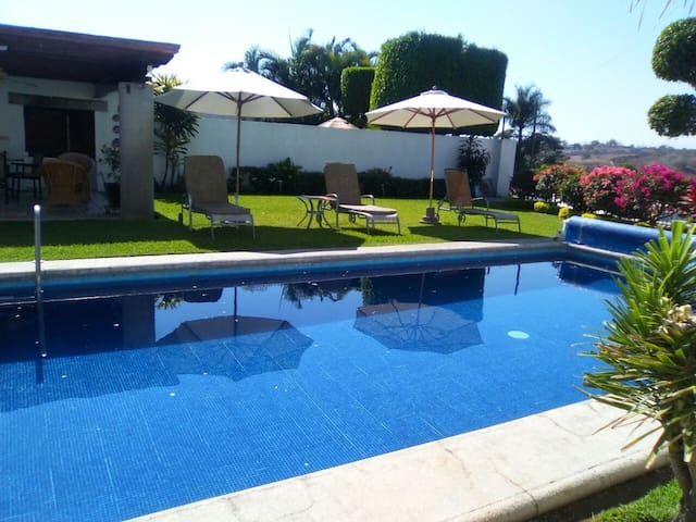 Beautiful private house&pool 15min fromCuernavaca - Xochitepec - 獨棟