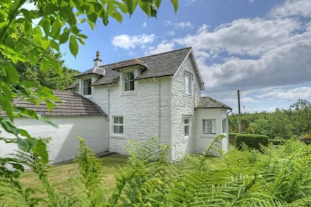 Coastal cottage on a beautiful estate with no neighbours. Private loch & shore, SW Scotland nr Kirkcudbright - Kirkcudbright