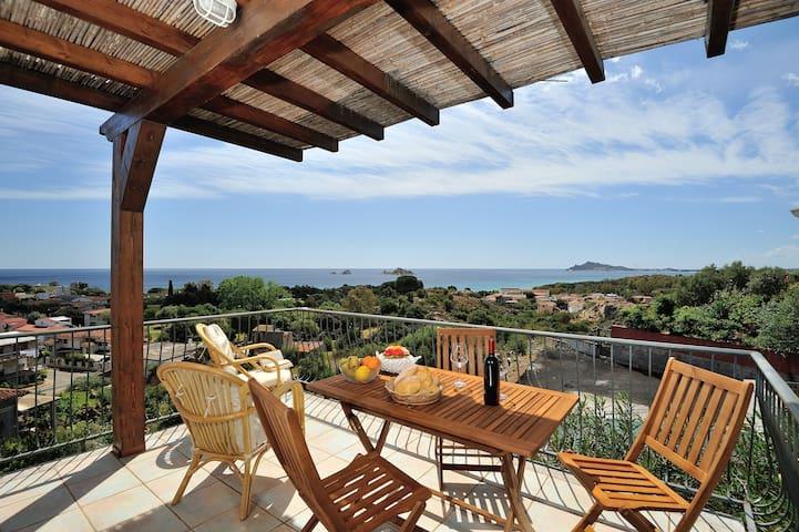 Panoramico bilocale vista mare - Santa Maria Navarrese
