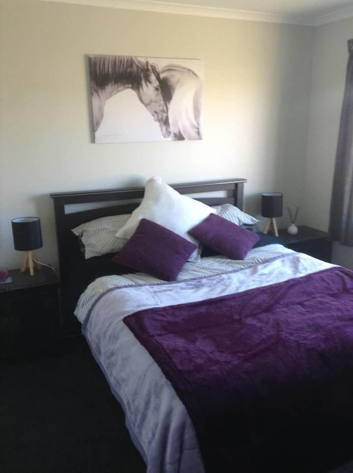 A comfortable base in the heart of the Wairarapa