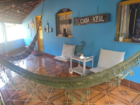No Paraiso do Guapiaçu, venham para a Casa Azul