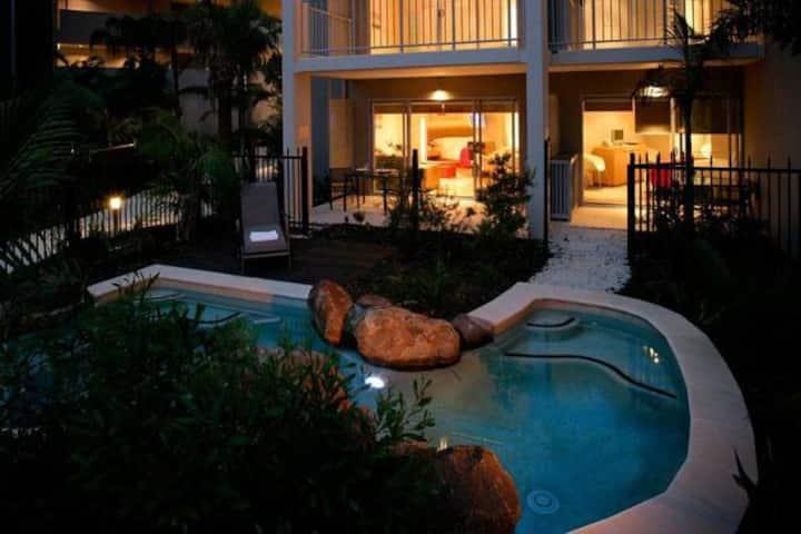 Luxury Resort Plunge Pool Apart @ Kingscliff Beach
