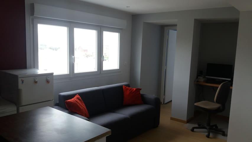 appartement front de mer berck sur mer - Berck - Byt