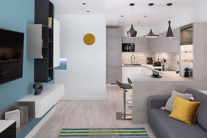 Luxury Modern Apartment in Dublin City Centre