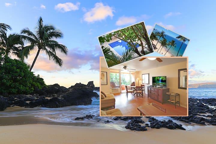2 BR Condo 2 Blocks to Best Beaches in Kihei Maui