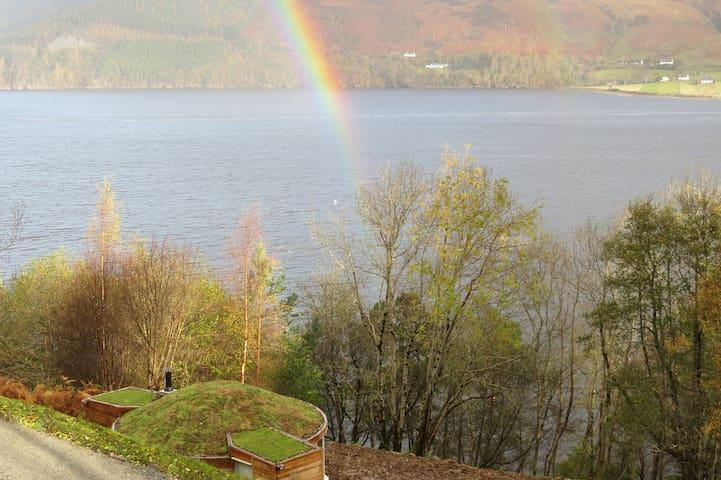 rainbow over Am Falachan