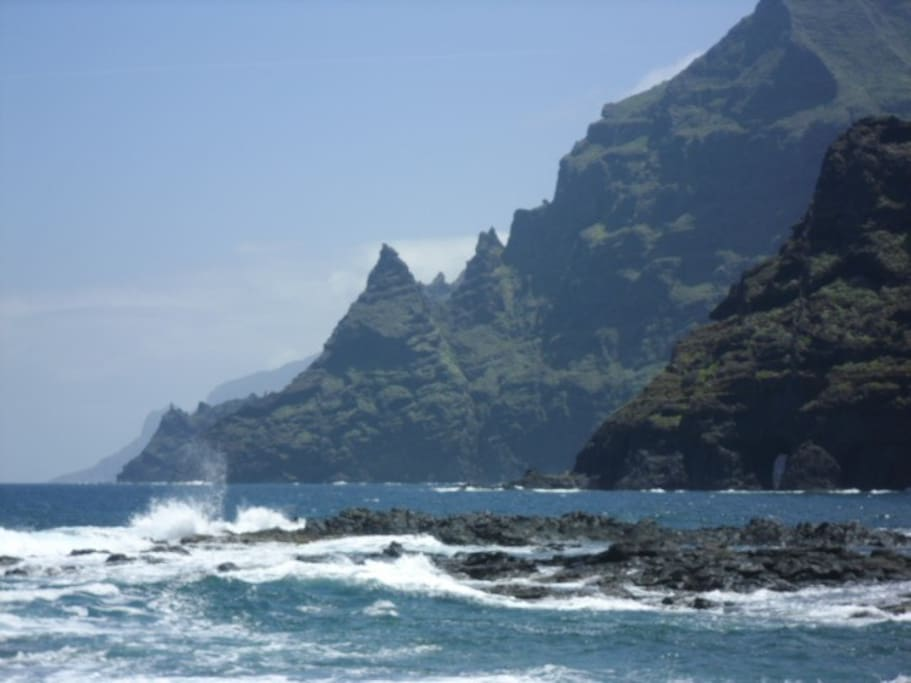 the beautiest beach in tenerife is our bay