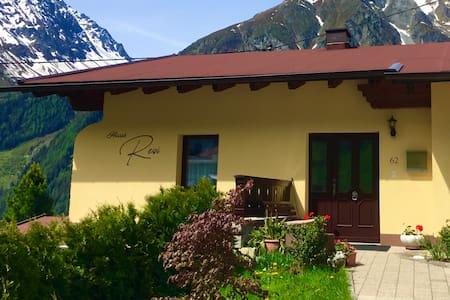 Ferienwohnung mit Panoramablick - Haus Resi