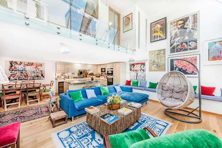 Unique and refurbished artists studio in chelsea - Londres - Casa