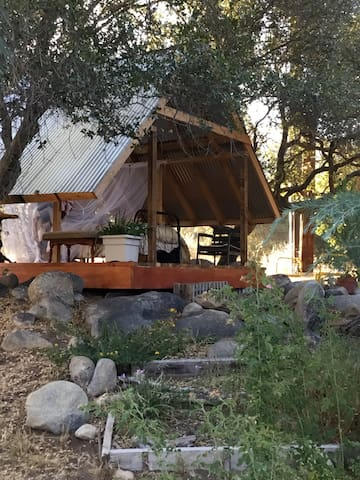 Outdoor Living at the Granny Bed Shed