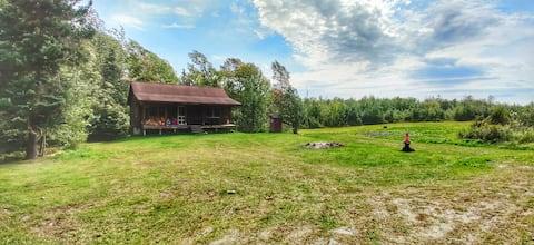 Northeast Kingdom Log Cabin