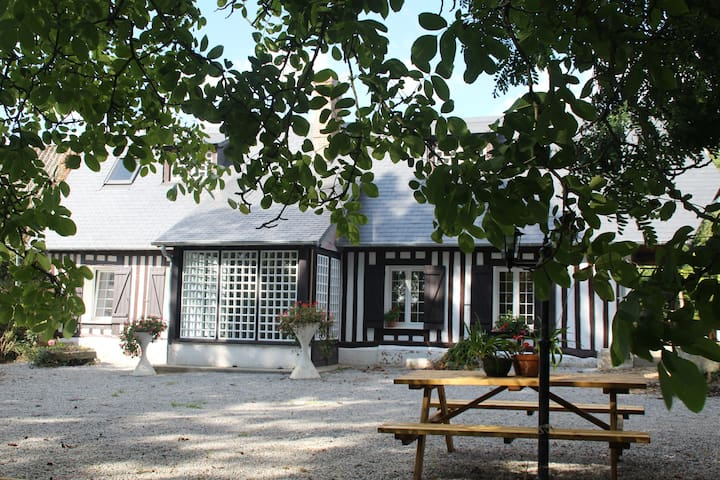 Gîte Bellevue-Maison à la Campagne - Val-de-Saâne - Hus