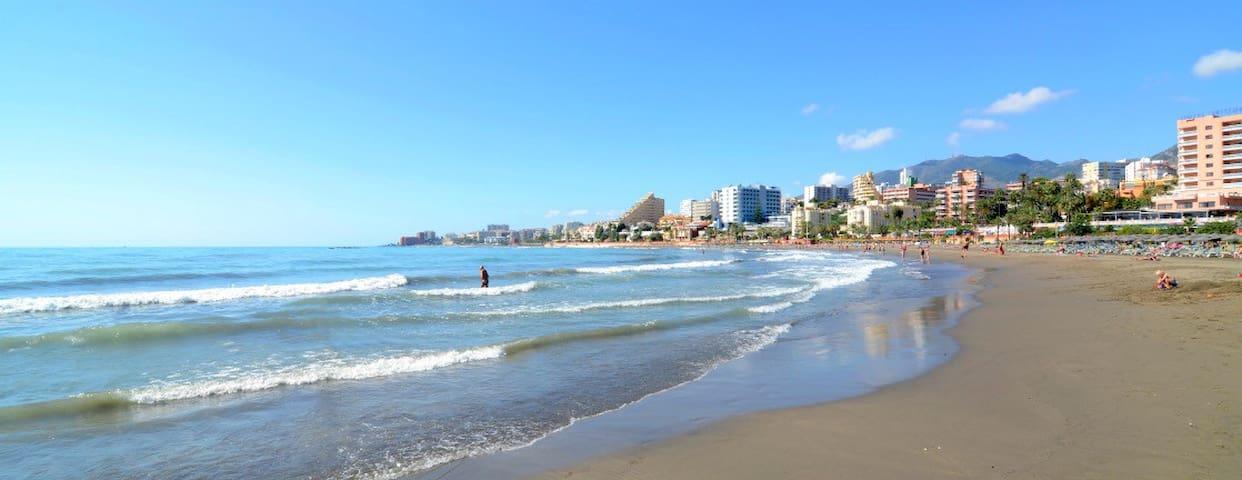 Estudió familar a 300 m de la Playa - Benalmádena - Apto. en complejo residencial