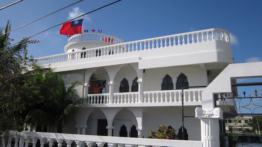 Caribbean White House - 貝里斯市 - Aamiaismajoitus