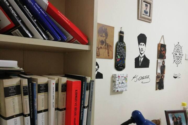 Ankaranın merkezinde,samimi öğrenci evi :)
