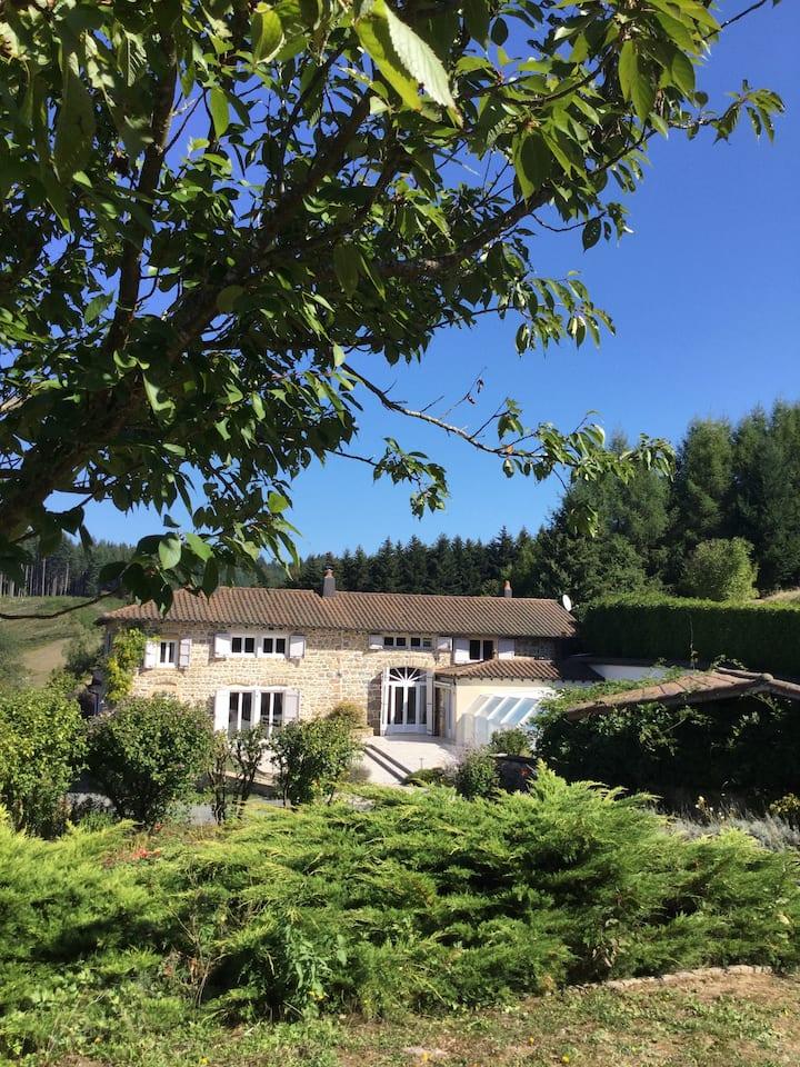 Le Paradis Perdus, piscine privée chauffée en été