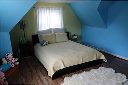 Safe, spacious, clean, and comfy :) - Rochester Hills - Casa