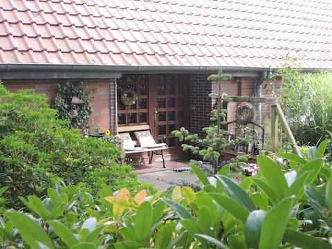 Calm Ammerländer Room Amidst Greenery at Barbaras