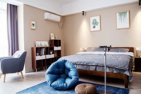 八百伴附近,杉杉in象,超大卧室,巨幕投影,月河直达,北欧风主题房