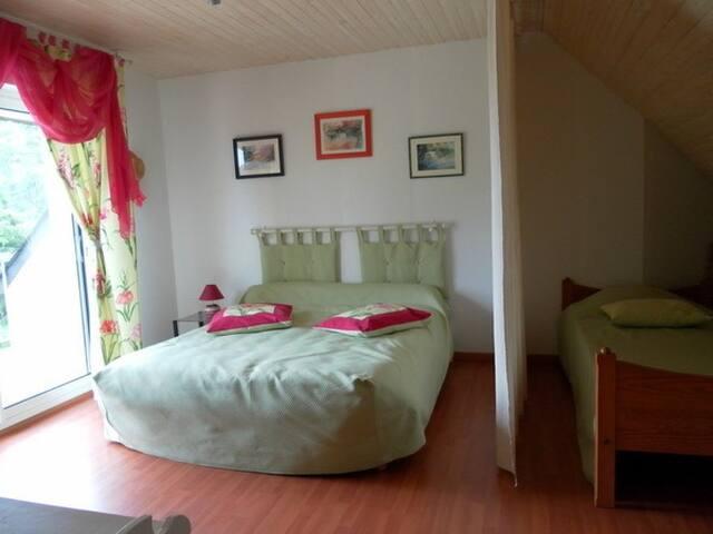 Chambre d'hôte familiale 12 kms Rennes - Chasné-sur-Illet