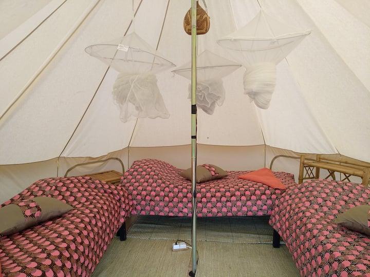 Safari tent Agaciro