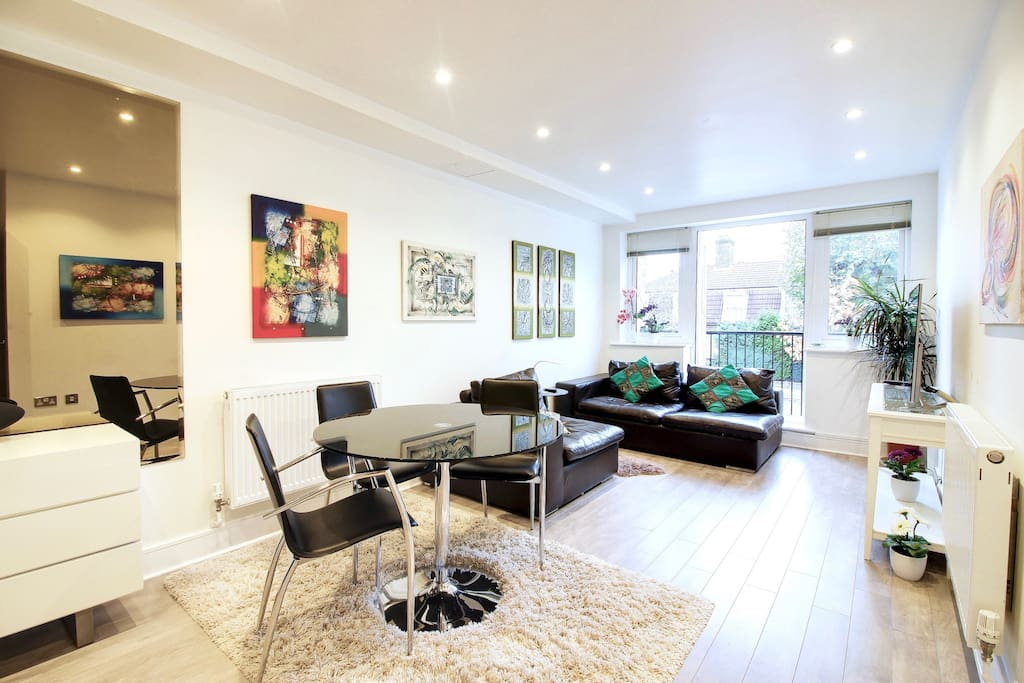 Central London Stylish 1 Bedroom Flat Balcony Apartments For Rent In London United Kingdom