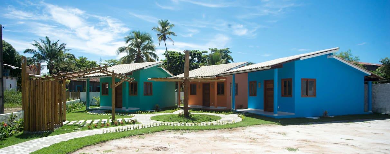 Chalés Villa Pier Beira-mar Cumuruxatiba (L)