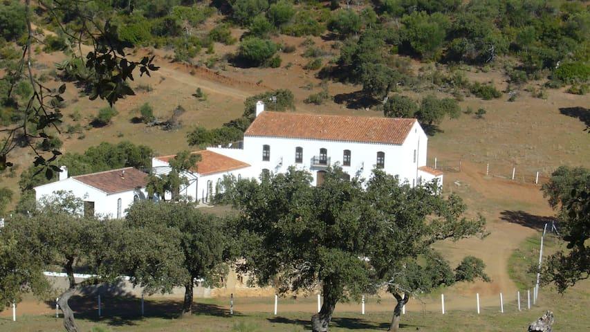 FUENTEIBAÑEZ, espectacular casa de campo - Zufre - Dom
