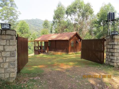 Деревянный коттедж на ферме Kookal Eco