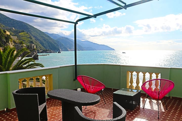 The best see view in town!!! - Monterosso Al Mare - Bed & Breakfast