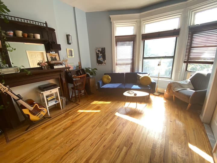 Light filled, spacious 1 bedroom apartment in BK