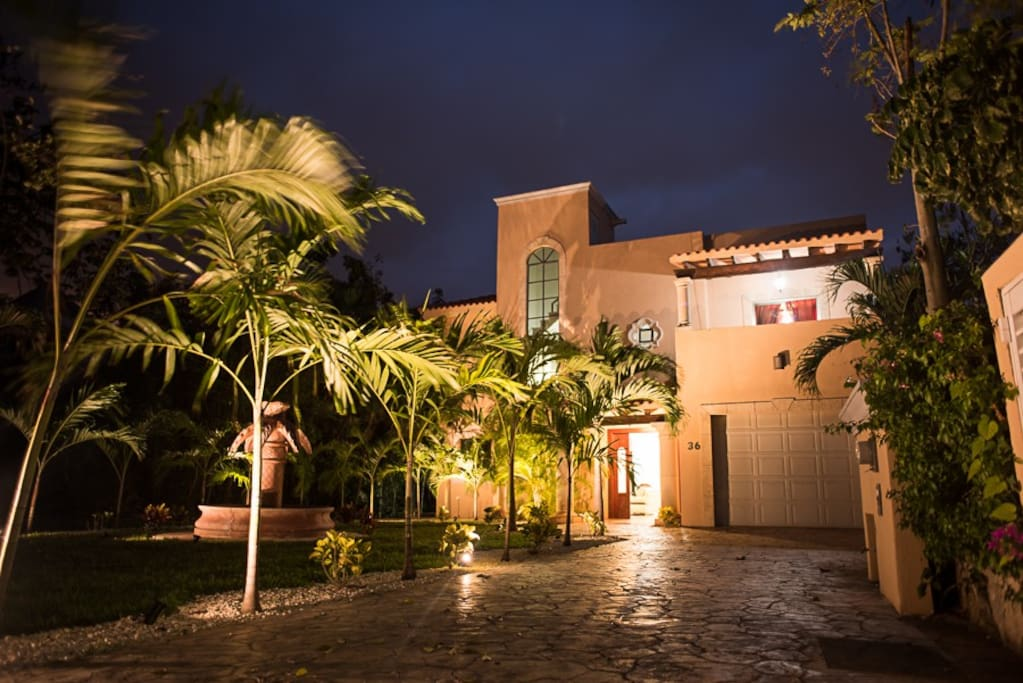Casa la porta villas for rent in puerto aventuras for Villas quintana roo