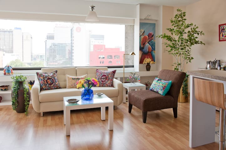 Beautiful  chic  flat in Reforma / Angel - Colonia Juárez - Kondominium