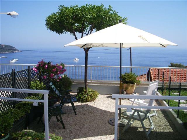 bellissimo studio 4 posti letto con vista mare - Roquebrune-Cap-Martin - Appartement