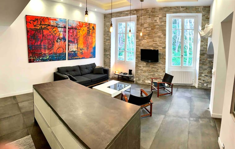 Cosy Apartment Loft - Port of Nice