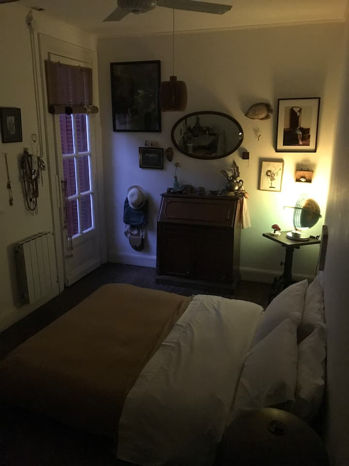 Cozy room with a Patio/Terrace near to Palermo