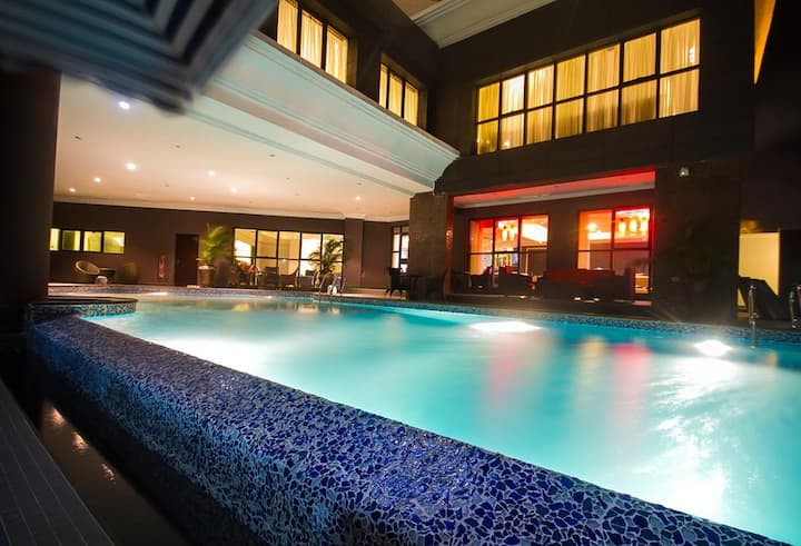 The Lilygate Hotel Lagos is a luxury hotel in Lagos