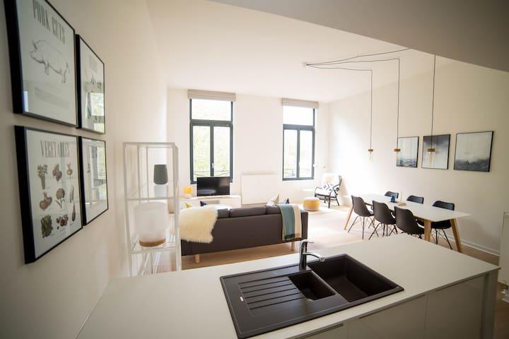 Superbe Appartement Quartier Louise 2ch