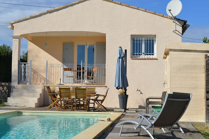 Beautiful Villa in Lédignan with Private Swimming Pool