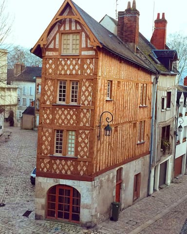 Chambre privée Place de Loire