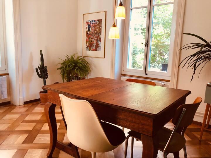 Stilvolle 3-Zimmerwohnung im Breitenrain