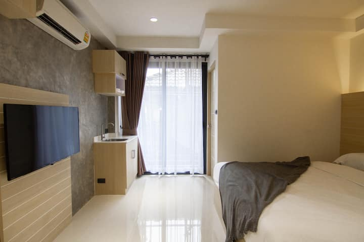 2BR-SNOOZE BOX-Stay 4-Phrakhanong BTS-WiFi-漂亮的房子