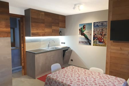 Large studio flat in Sauze d'Oulx near the slope